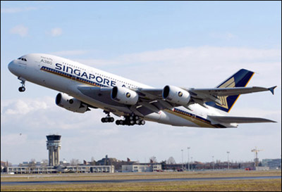 新加坡航空公司A380首飞